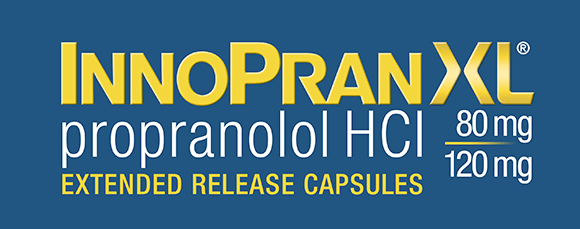 InnoPran XL® propranolol HCI 80mg 120mg extended release capsules